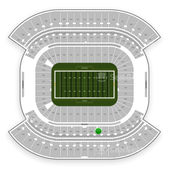 Tennessee Titans at Nissan Stadium Section 233 View