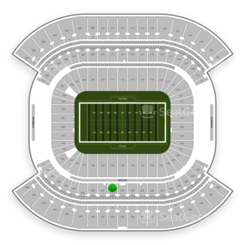 Tennessee Titans at Nissan Stadium Section 236 View
