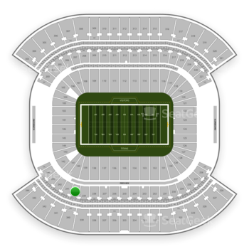 Tennessee Titans at Nissan Stadium Section 240 View
