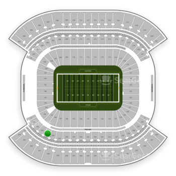 Tennessee Titans at Nissan Stadium Section 241 View