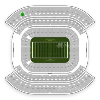 Tennessee Titans at Nissan Stadium Section 306 View