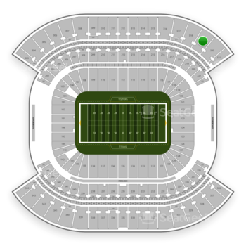 Tennessee Titans at Nissan Stadium Section 319 View