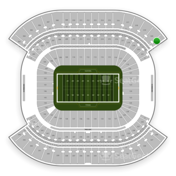 Tennessee Titans at Nissan Stadium Section 321 View