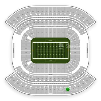 Tennessee Titans at Nissan Stadium Section 331 View
