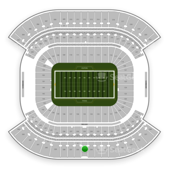 Tennessee Titans at Nissan Stadium Section 335 View