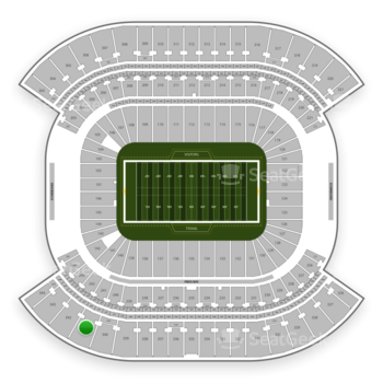 Tennessee Titans at Nissan Stadium Section 341 View