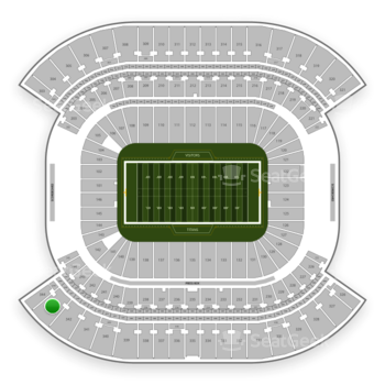 Tennessee Titans at Nissan Stadium Section 343 View