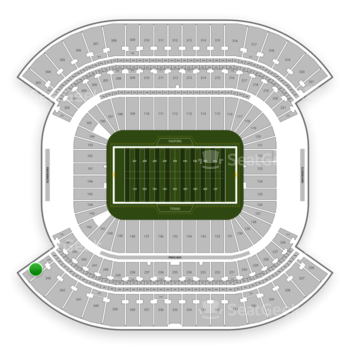 Tennessee Titans at Nissan Stadium Section 344 View