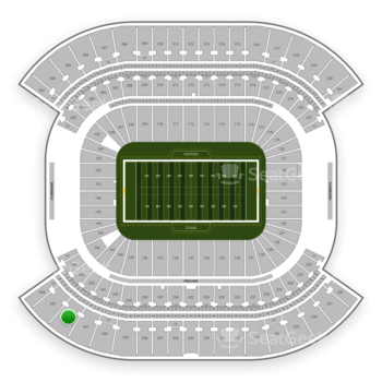 Tennessee Titans at Nissan Stadium Section 342 View