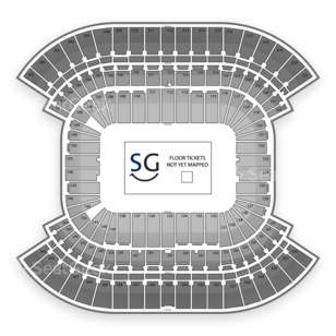 Nissan Stadium Seating Chart Music Festival