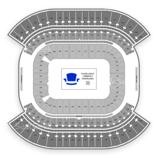 Nissan Stadium Seating Chart MMA