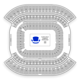 Gold Cup Semi Finals Seating Chart