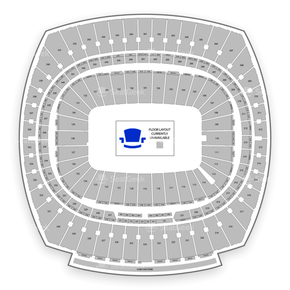 Arrowhead Stadium Seating Chart Concert