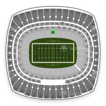 Kansas City Chiefs at Arrowhead Stadium Section 101 View