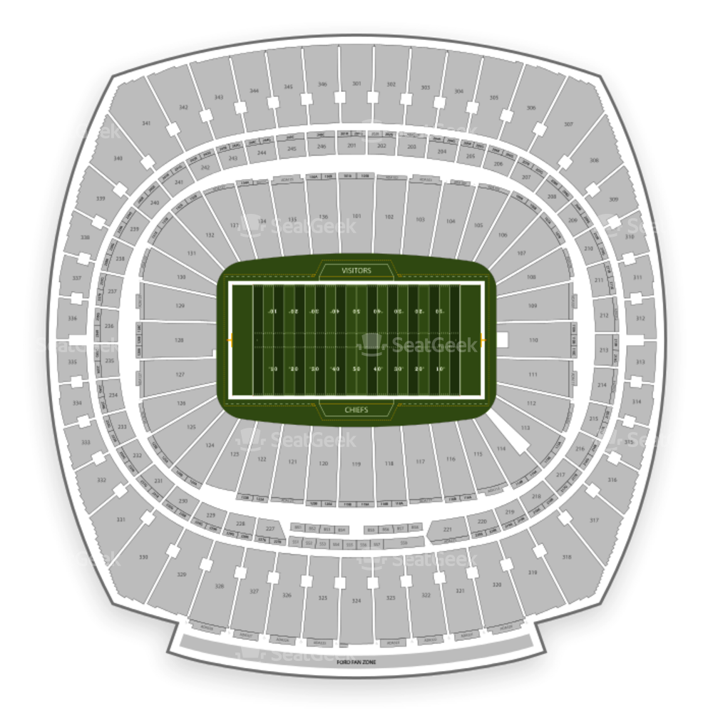 Kansas City Chiefs Seating Chart