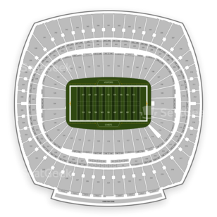 Arrowhead Stadium Seating Chart NCAA Football