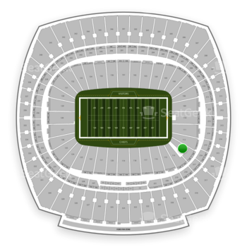Kansas City Chiefs at Arrowhead Stadium Section 113 View