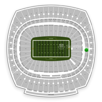 Kansas City Chiefs at Arrowhead Stadium Section 213 View