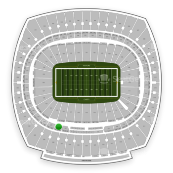 Kansas City Chiefs at Arrowhead Stadium Section 228 View