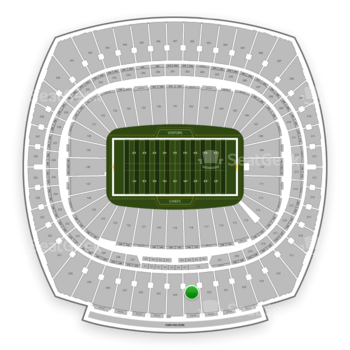 Kansas City Chiefs at Arrowhead Stadium Section 323 View