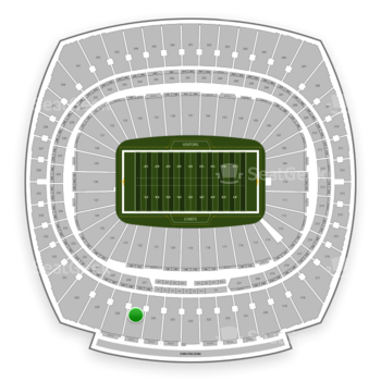Arrowhead stadium section 327 seat views seatgeek