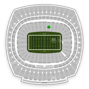 Kansas City Chiefs at Arrowhead Stadium Section 102 View