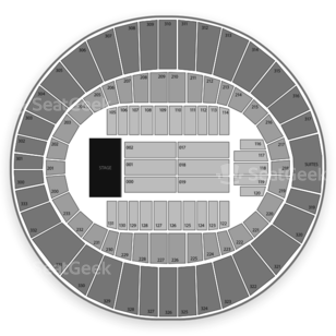 Cajundome Seating Chart Concert