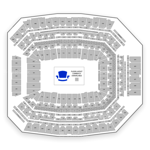 Lucas Oil Stadium Seating Chart Map Seatgeek