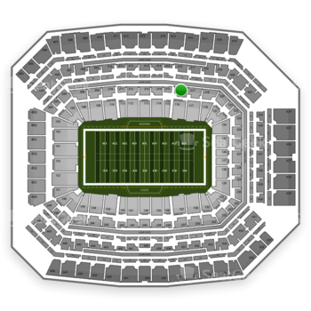 Indianapolis Colts at Lucas Oil Stadium Section 216 View