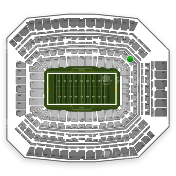 Indianapolis Colts at Lucas Oil Stadium Section 221 View