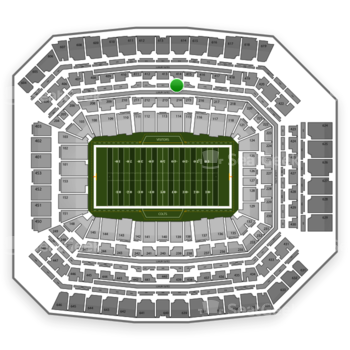 Indianapolis Colts at Lucas Oil Stadium Section 314 View
