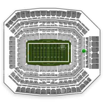 Indianapolis Colts at Lucas Oil Stadium Section 326 View