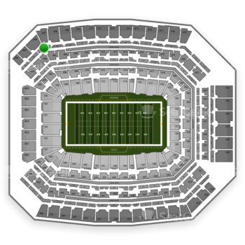 Indianapolis Colts at Lucas Oil Stadium Section 507 View