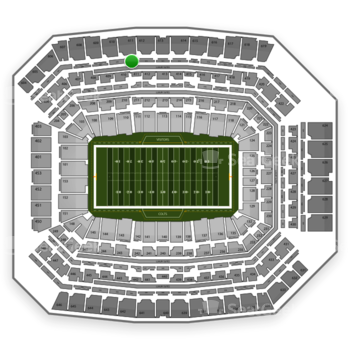 Indianapolis Colts at Lucas Oil Stadium Section 511 View