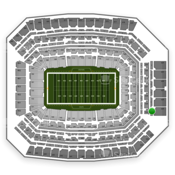 Indianapolis Colts at Lucas Oil Stadium Section 529 View