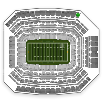 Indianapolis Colts at Lucas Oil Stadium Section 619 View