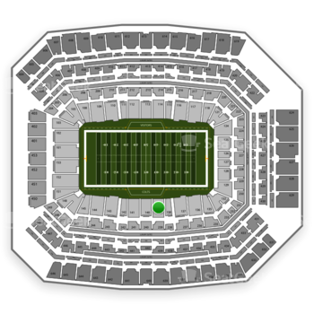 Indianapolis Colts at Lucas Oil Stadium Section 139 View