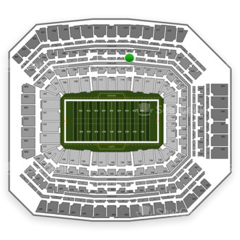 Indianapolis Colts at Lucas Oil Stadium Section 315 View