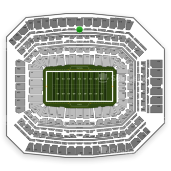 Indianapolis Colts at Lucas Oil Stadium Section 513 View