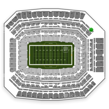 Indianapolis Colts at Lucas Oil Stadium Section 522 View