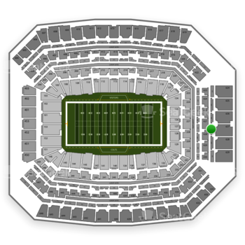 Indianapolis Colts at Lucas Oil Stadium Section 527 View