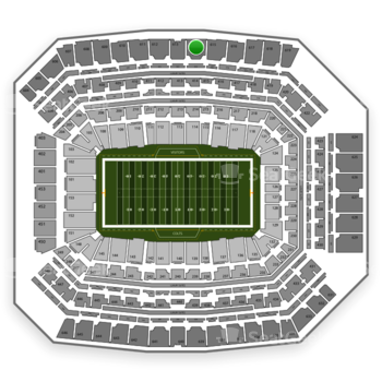 Indianapolis Colts at Lucas Oil Stadium Section 614 View