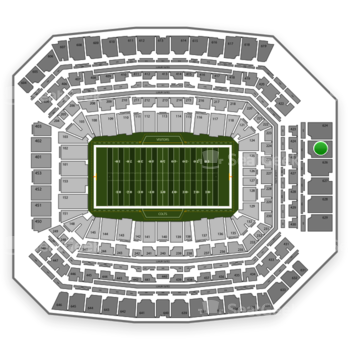 Indianapolis Colts at Lucas Oil Stadium Section 625 View
