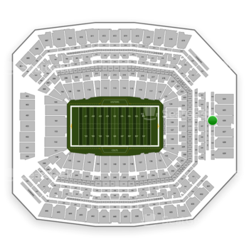 Indianapolis Colts at Lucas Oil Stadium Section 526 View