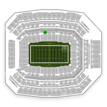 Indianapolis Colts at Lucas Oil Stadium Section 212 View