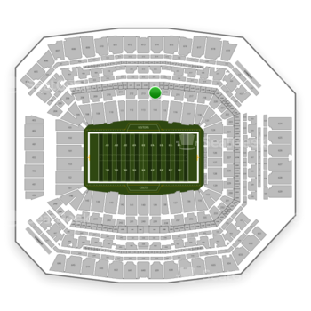 Indianapolis Colts at Lucas Oil Stadium Section 214 View
