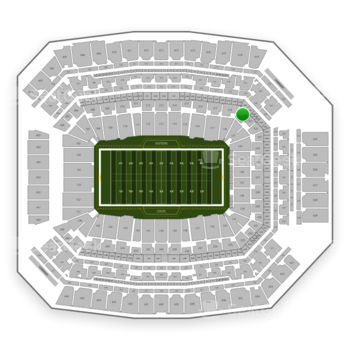 Indianapolis Colts at Lucas Oil Stadium Section 220 View