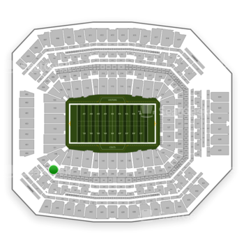 Indianapolis Colts at Lucas Oil Stadium Section 247 View
