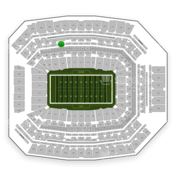 Indianapolis Colts at Lucas Oil Stadium Section 310 View