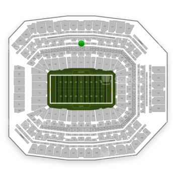 Indianapolis Colts at Lucas Oil Stadium Section 313 View